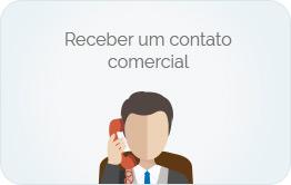 Receber um contato comercial